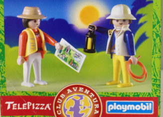 Playmobil - 0000v3-esp - Telepizza Give-away Explorers