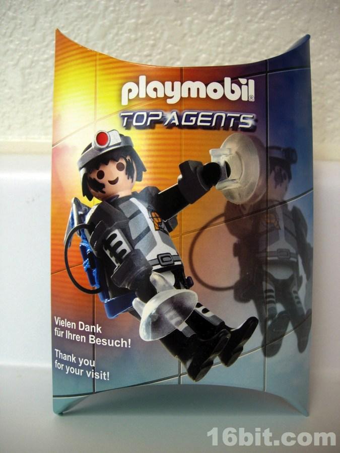 Playmobil 0000v7-ger - Nüremberg Toy Fair Give-away Secret Agent - Box