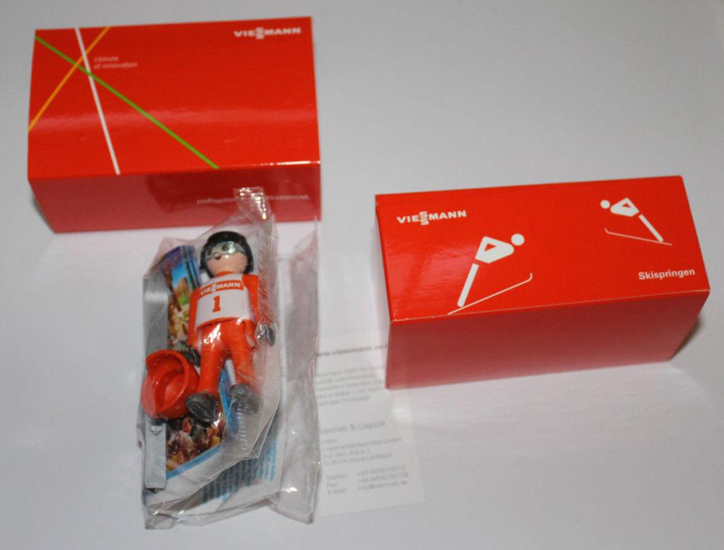 Playmobil 0000v1-ger - Viessmann Ski Jumper - Box