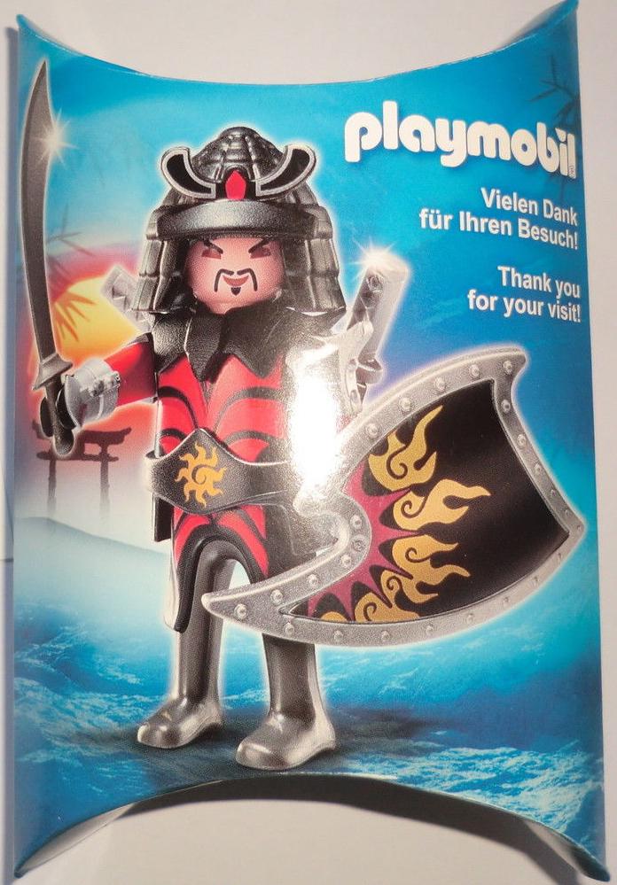 Playmobil 0000-ger - Nüremberg Toy Fair Give-away Asian Warrior - Box