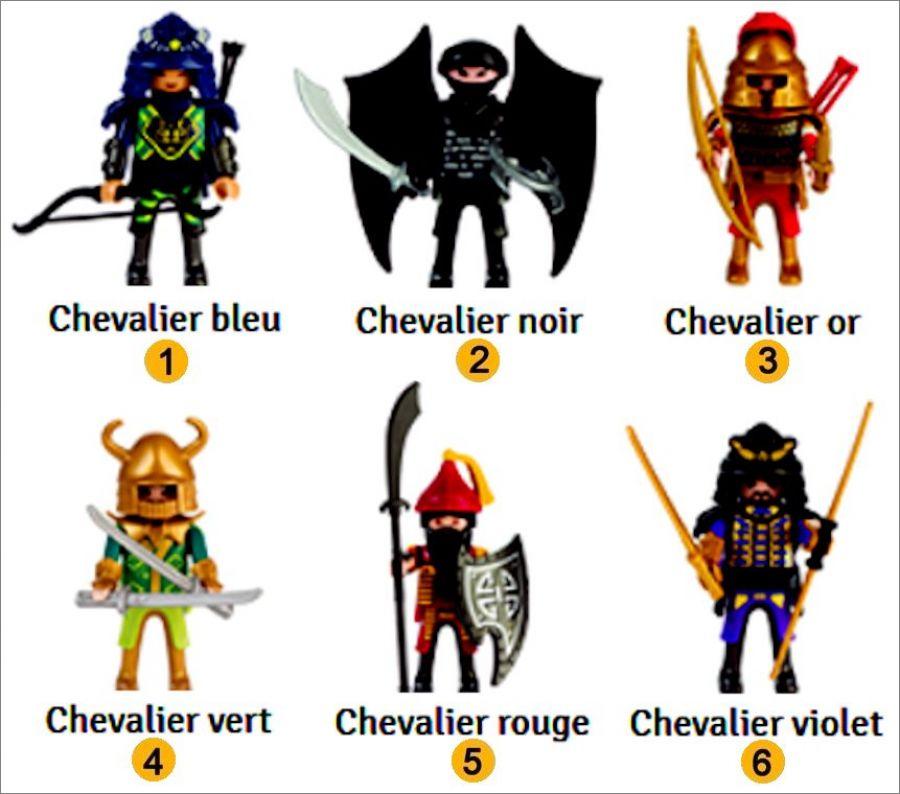 playmobil 0000 quick magic box asian warriors set box - Playmobile Chevalier