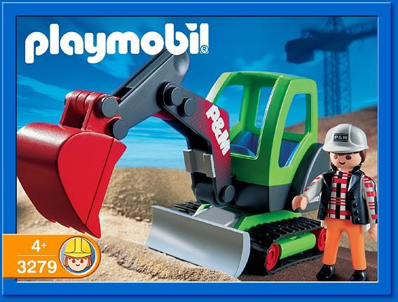 Playmobil 3279s2 - Excavator - Box
