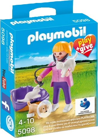 Playmobil 5098-gre - Veterinarian - Box