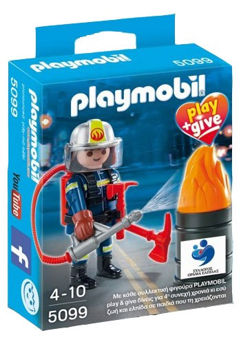 Playmobil 5099-gre - Fireman - Box