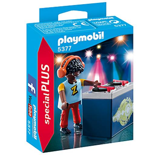 Playmobil 5377 - DJ - Box