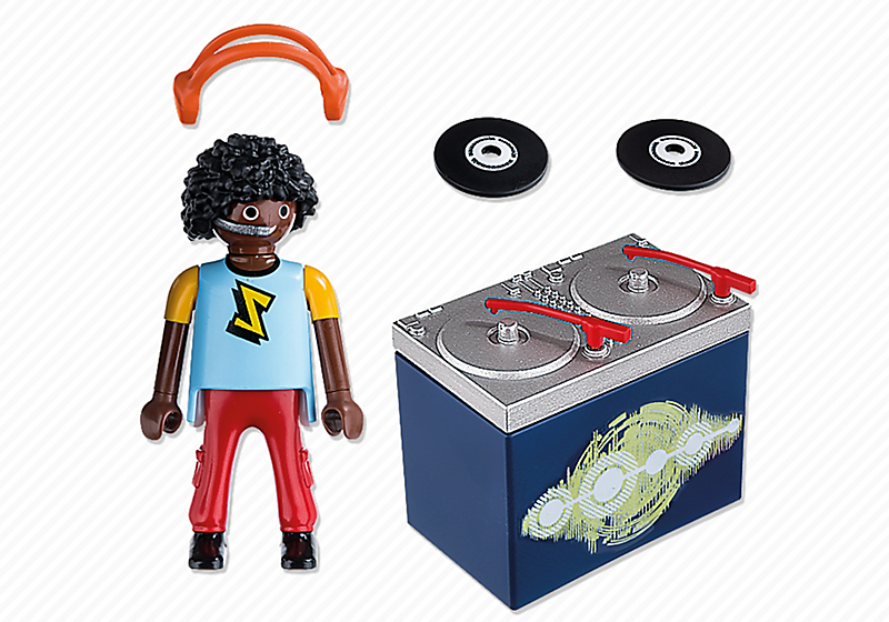 Playmobil 5377 - DJ - Back