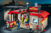 Playmobil - 5663 - Take Along Fire Station