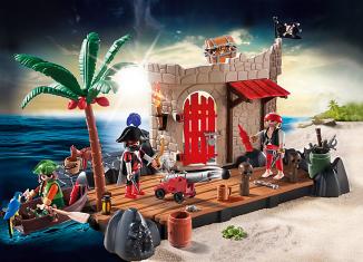 Playmobil - Mini Escenario Piratil.