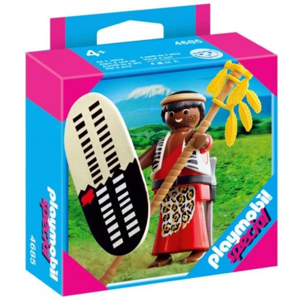 Playmobil 4685 - Zulu Warrior - Box