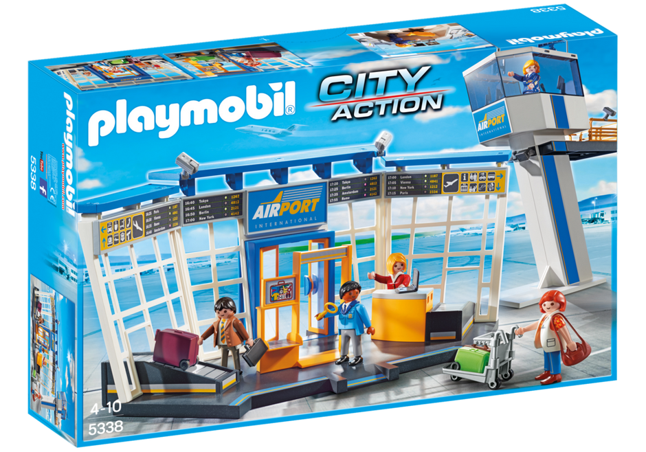 Playmobil 5338 - City-airport with tower - Box