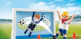 Playmobil - 5654-usa - Soccer Shootout Carry Case