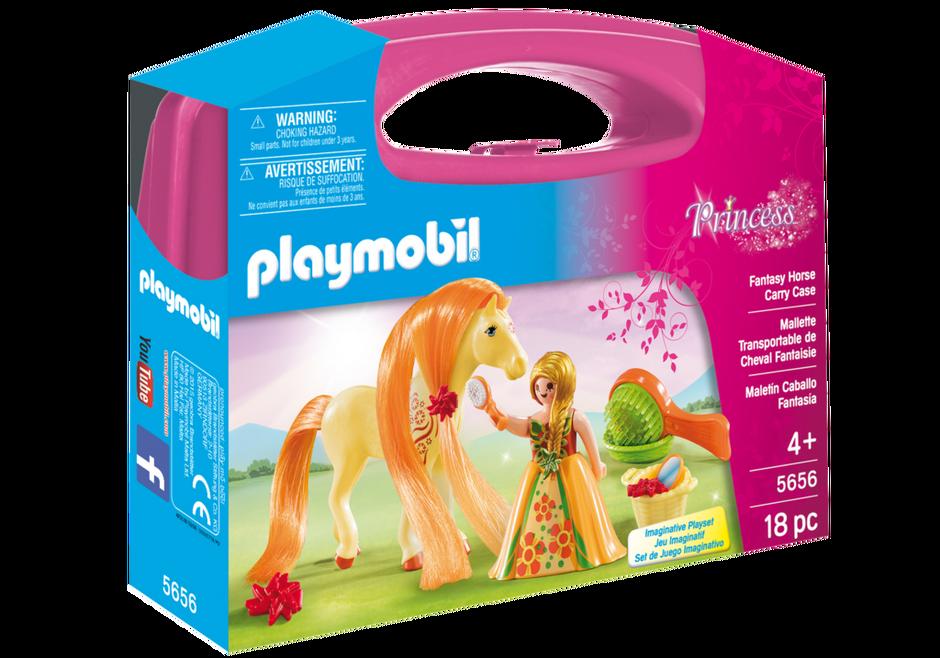 Playmobil 5656-usa - Fantasy Horse Carry Case - Box