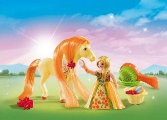 Playmobil - 5656-usa - Fantasy Horse Carry Case