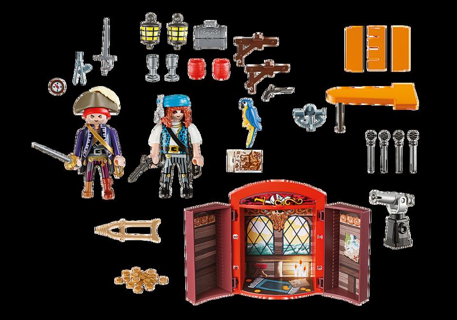 Playmobil 5658-usa - Play box - Pirates - Back