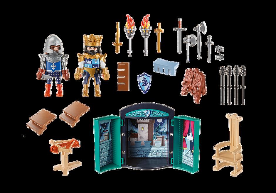 Playmobil 5659-usa - Play Box - Knights - Back