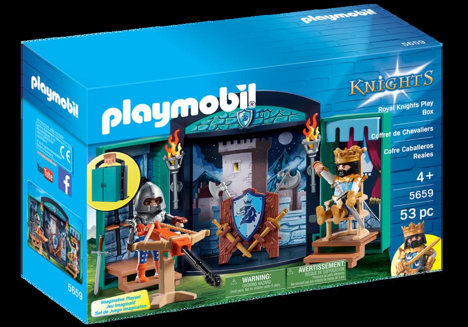 Playmobil 5659-usa - Play Box - Knights - Box