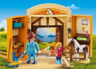 Playmobil - 5660-usa - Pony Stable Play Box