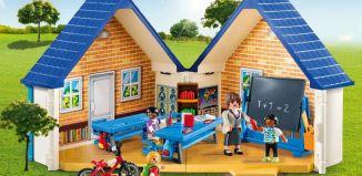 Playmobil - 5662-usa - Take Along School House