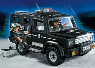 Playmobil - 5674-usa - Tactical Unit Car