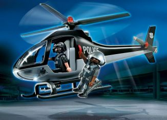 Playmobil - 5675-usa - Tactical Unit Copter
