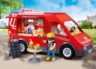 Playmobil - 5677-usa - City Food Truck