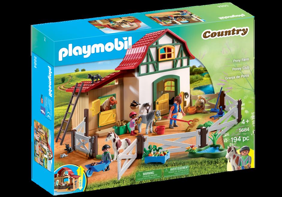 Playmobil 5684-usa - Pony Farm - Box