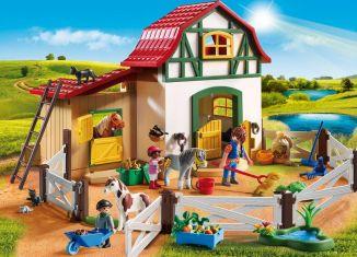 Playmobil - 5684-usa - Pony Farm