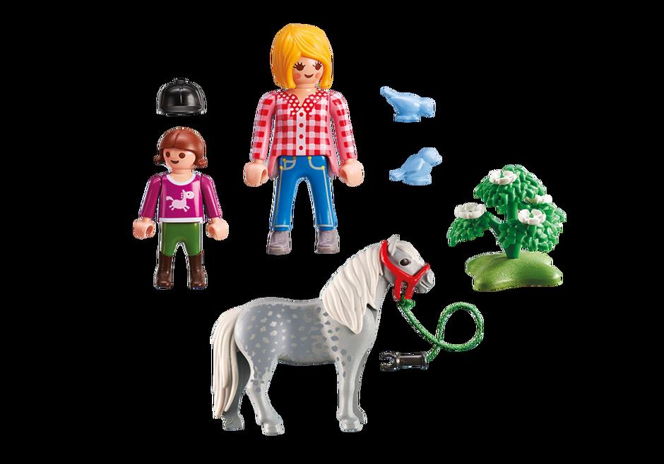 Playmobil 5688-usa - Pony Walk - Back