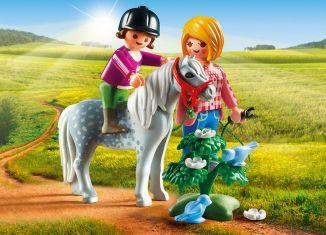 Playmobil - 5688-usa - Pony Walk