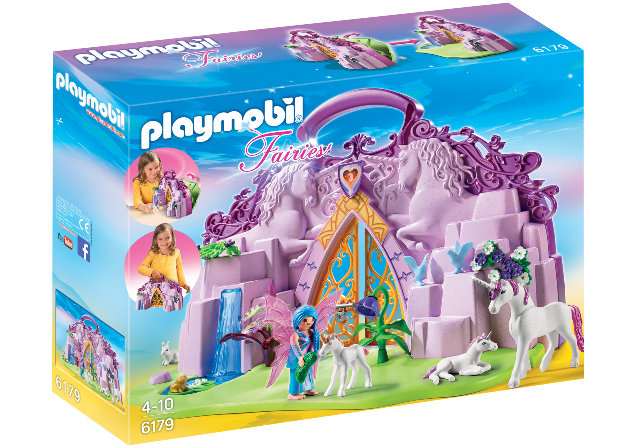Playmobil 6179 - Take Along Fairy Unicorn Garden - Box