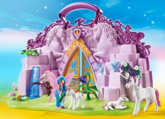 Playmobil - 6179 - Take Along Fairy Unicorn Garden