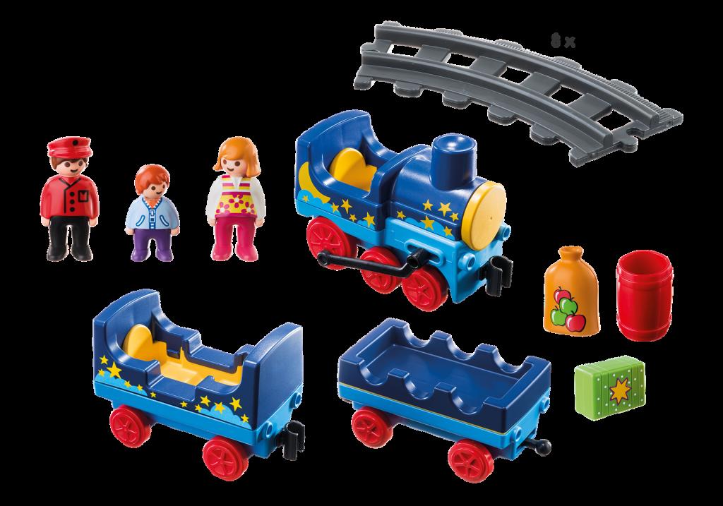 Playmobil set 6880 star train with rail circle - Train playmobil ...