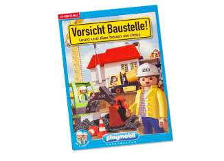 Playmobil - 80099-ger - Caution construction site! - Laura and Alex are building a house