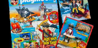 Playmobil - 80565-ger - PLAYMOBIL-Magazin 8/2015 (Heft 40)