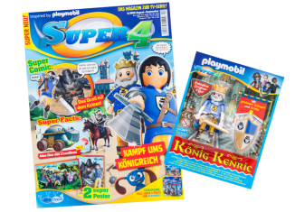 Playmobil - 80805 - Super 4-Magazin 04/2016 (Heft 6)