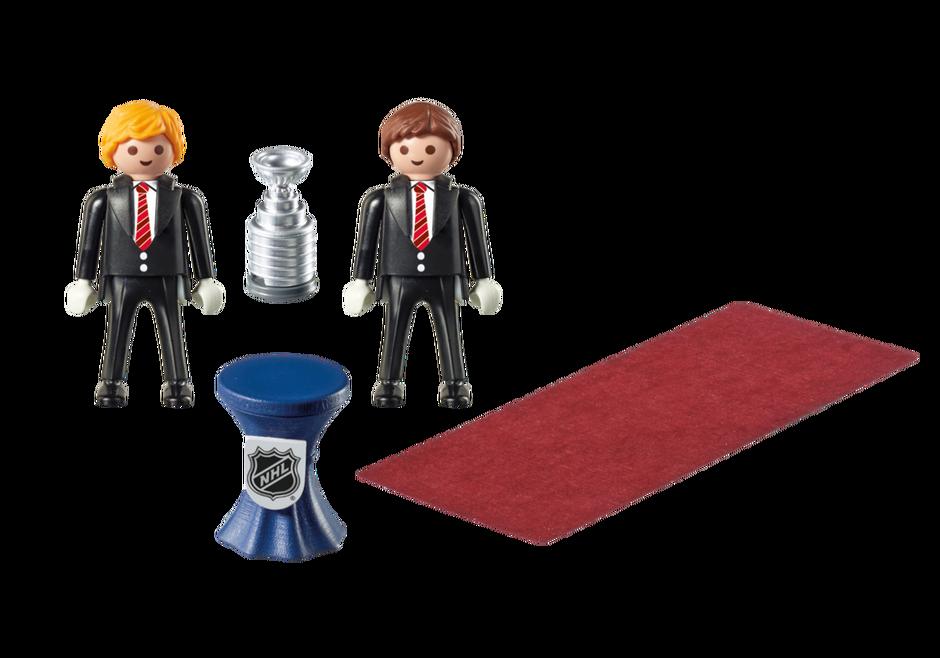 Playmobil 9015-usa - NHL® Stanley Cup® Presentation Set - Back