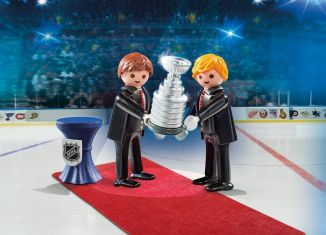 Playmobil - 9015-usa - NHL® Stanley Cup® Presentation Set