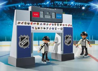 Playmobil - 9016-usa - NHL® Score Clock with 2 Referees