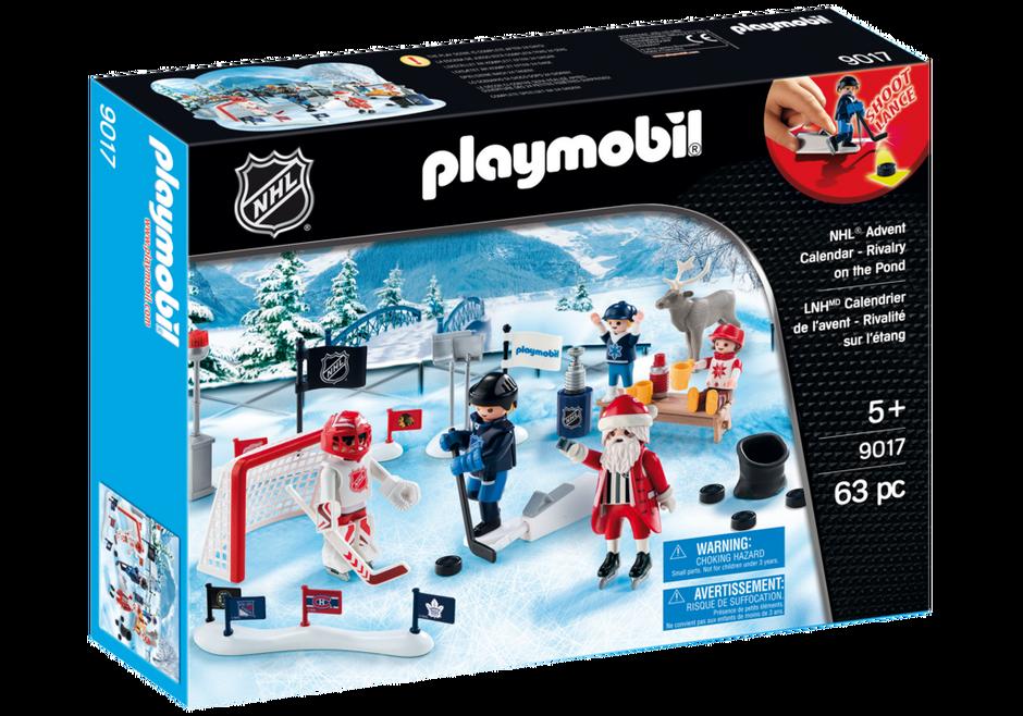Playmobil 9017-usa - NHL® Advent Calendar - Rivalry on the Pond - Box