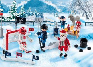 Playmobil - 9017-usa - NHL® Advent Calendar - Rivalry on the Pond