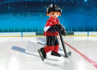 Playmobil - 9019-usa - NHL® Ottawa Senators® Player