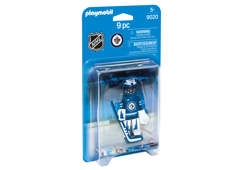 Playmobil 9020-usa - NHL® Winnipeg Jets® Goalie - Caja