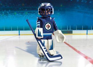 Playmobil - 9020-usa - NHL® Winnipeg Jets® Goalie
