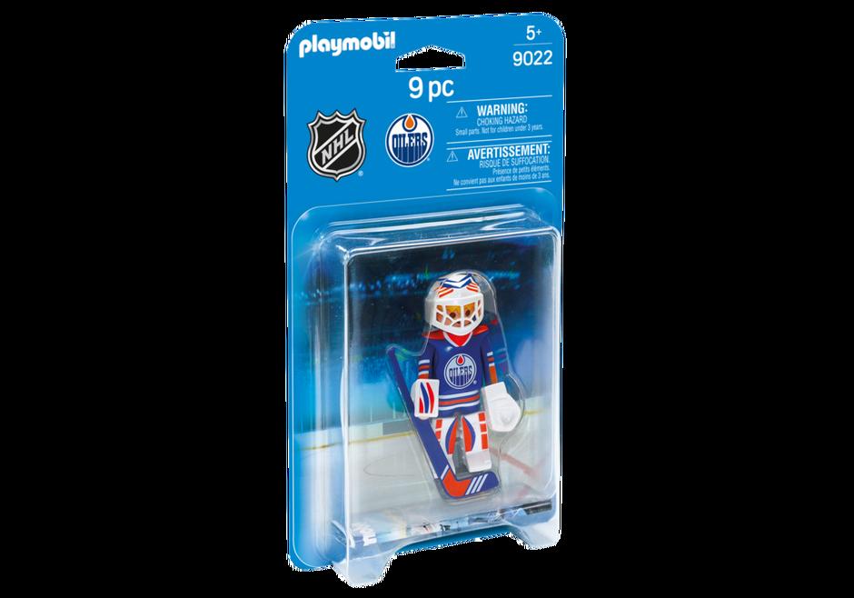 Playmobil 9022-usa - NHL® Edmonton Oilers® Goalie - Box