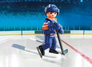 Playmobil - 9023-usa - NHL® Edmonton Oilers® Player
