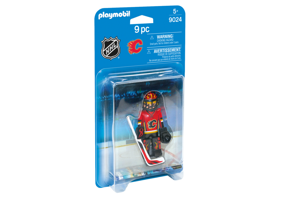 Playmobil 9024-usa - NHL® Calgary Flames® Goalie - Box