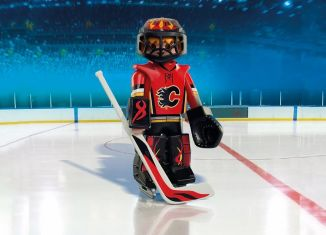 Playmobil - 9024-usa - NHL® Calgary Flames® Goalie