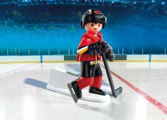 Playmobil - 9025-usa - NHL® Calgary Flames® Player