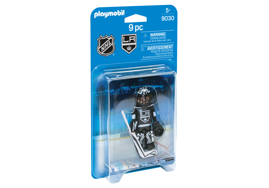 Playmobil 9030-usa - NHL® Los Angeles Kings® Goalie - Box