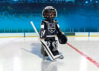 Playmobil - 9030-usa - NHL® Los Angeles Kings® Goalie